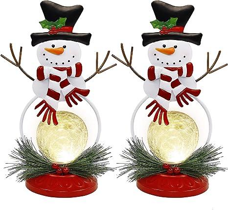 Ceramic Lamp Unique Christmas Lamp Decoration Light Ball Christmas Decoration Gift Light Advent