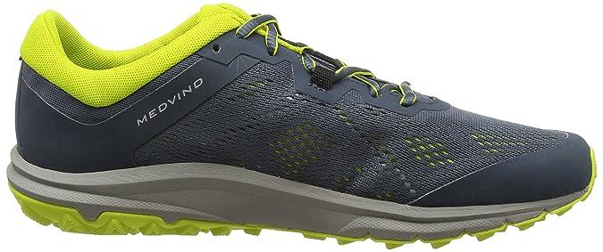 VikingMedvind - Scarpe da Trail Running Uomo, Grigio (Grau (Grey/Lime 388)), 41