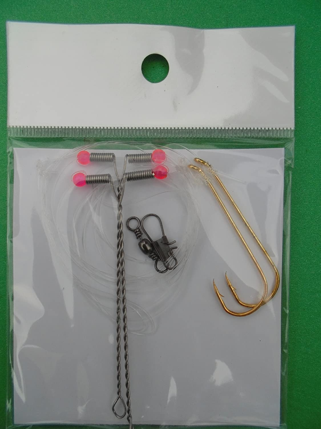 hook sizes 4 39 pickerel rigs 2 drop arms Crappie Rigs 1//0 and 2//0