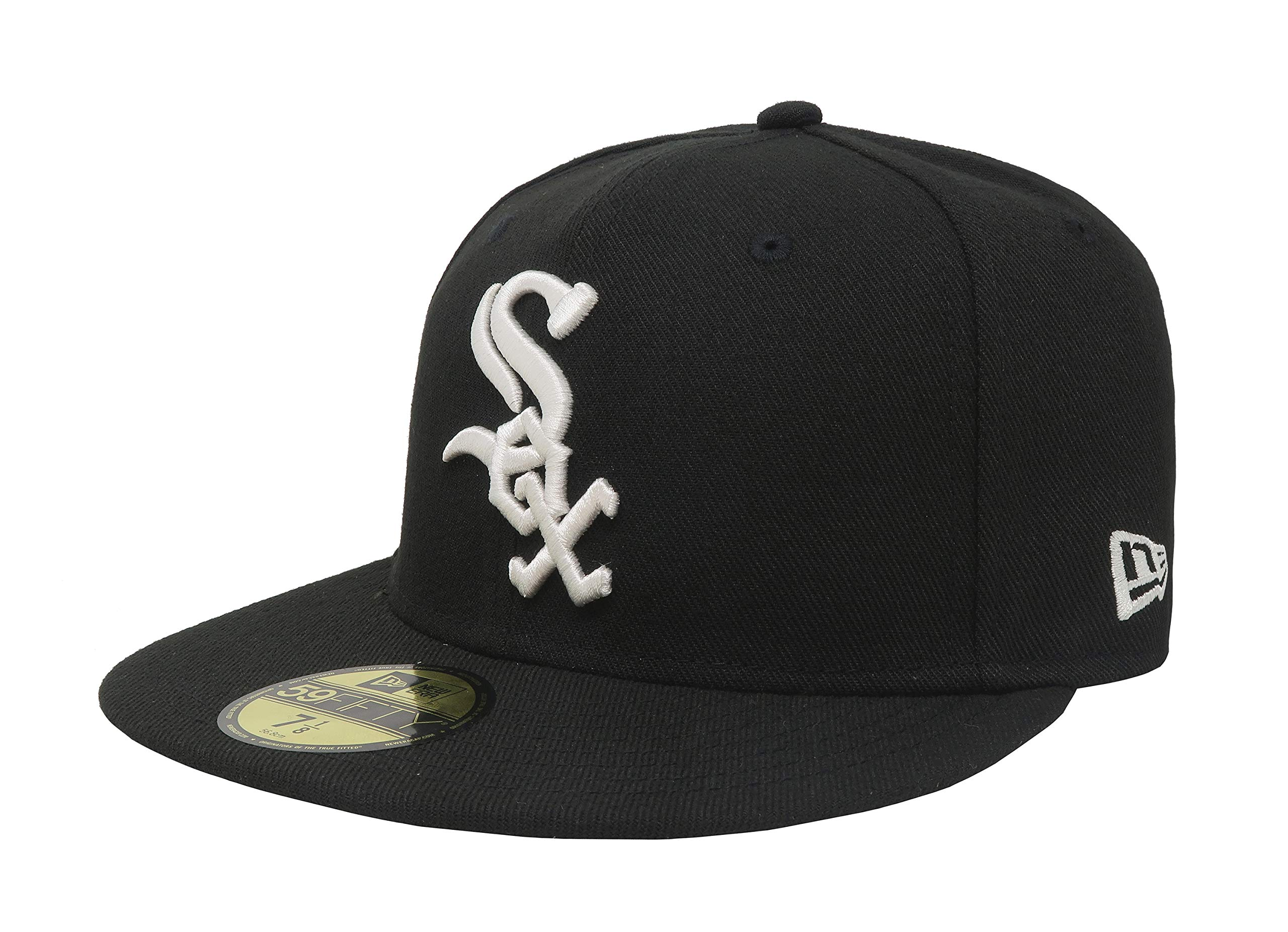 New Era 59FIFTY Chicago White Sox MLB 2017 Authentic Collection On Field Game Cap Size 7 1/8
