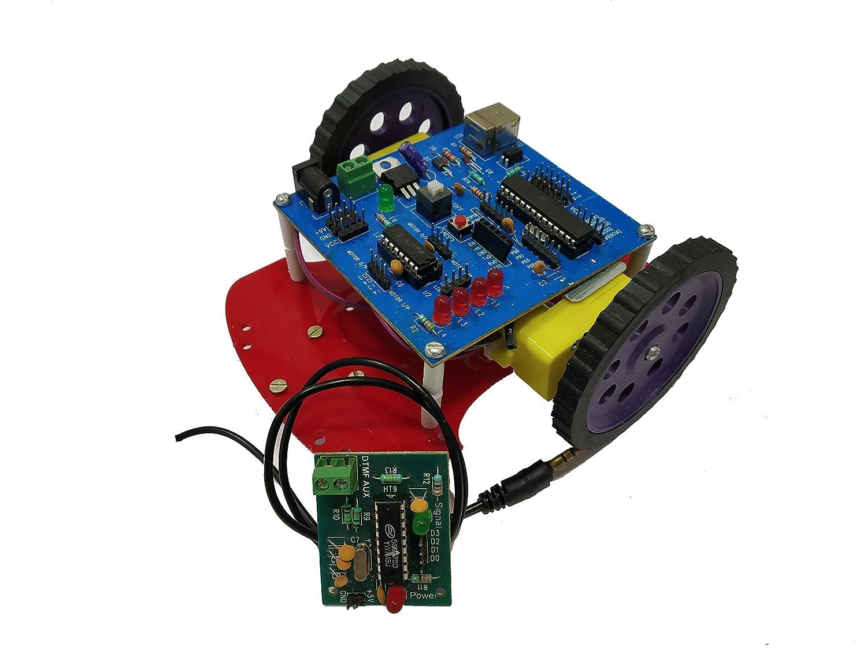 Embeddinators Mobile Control Robotic Diy Kit Programmer Amazon Dtmf Based Remote System