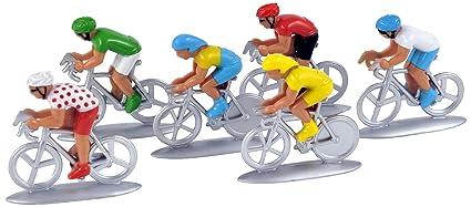 318991 Lote Figuritas 6 Ciclistas Norev De 8On0wXPk