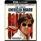 American Made [4K Ultra HD + Blu-ray + Digital] (Sous-titres français)