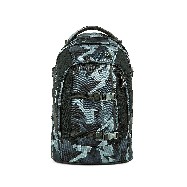 Bleu (grise Dreieckslinien) SATCH sac à dos Sac à Dos Enfants, 45 cm, 30 liters, MultiCouleure (FFaibleers)