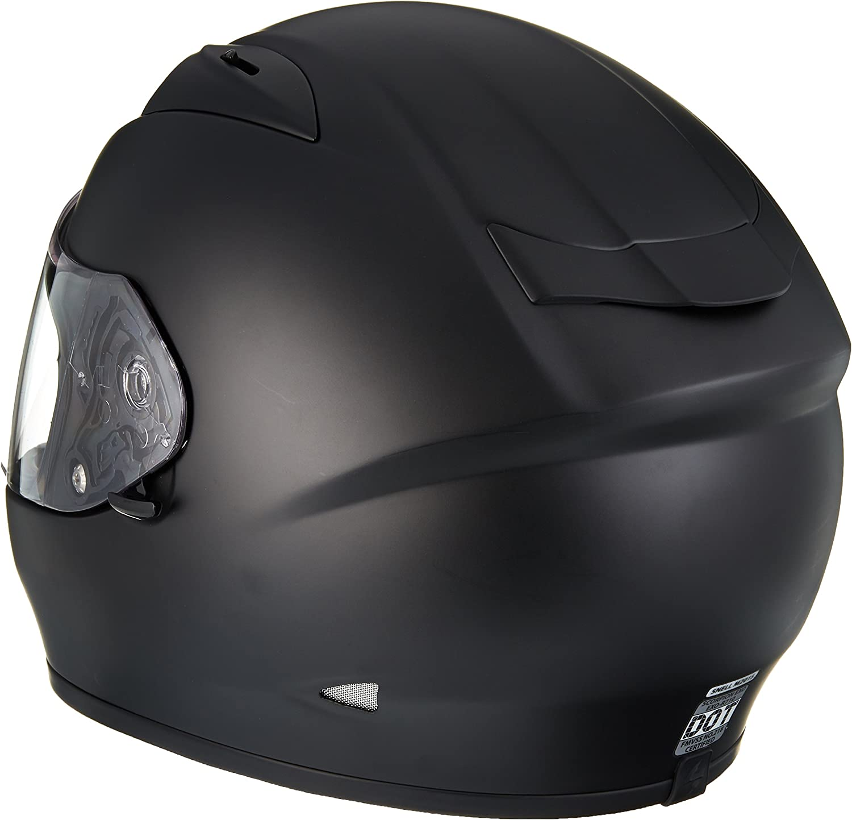 White, Medium Scorpion EXO-R710 Solid Street Motorcycle Helmet