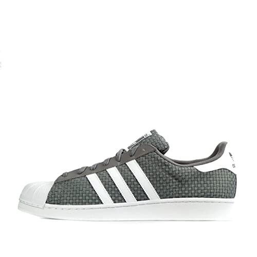 get cheap 8ea57 058b4 adidas - Superstar - Color Blanco de Oliva - s41989, Color Verde, Talla 46  2 3 EU  Amazon.es  Zapatos y complementos