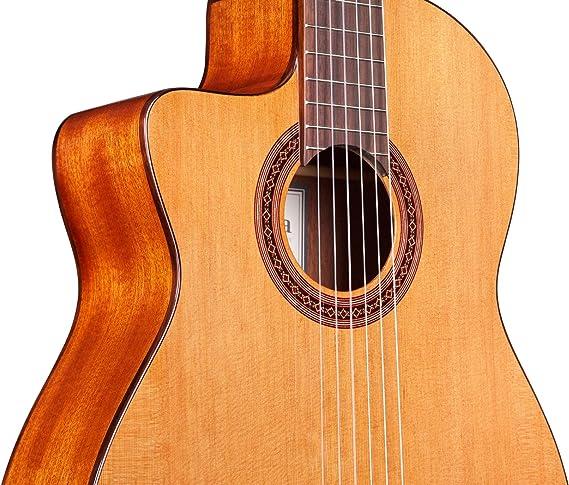 Cordoba c5-ce para zurdos acústica eléctrica (cuerdas de nailon ...
