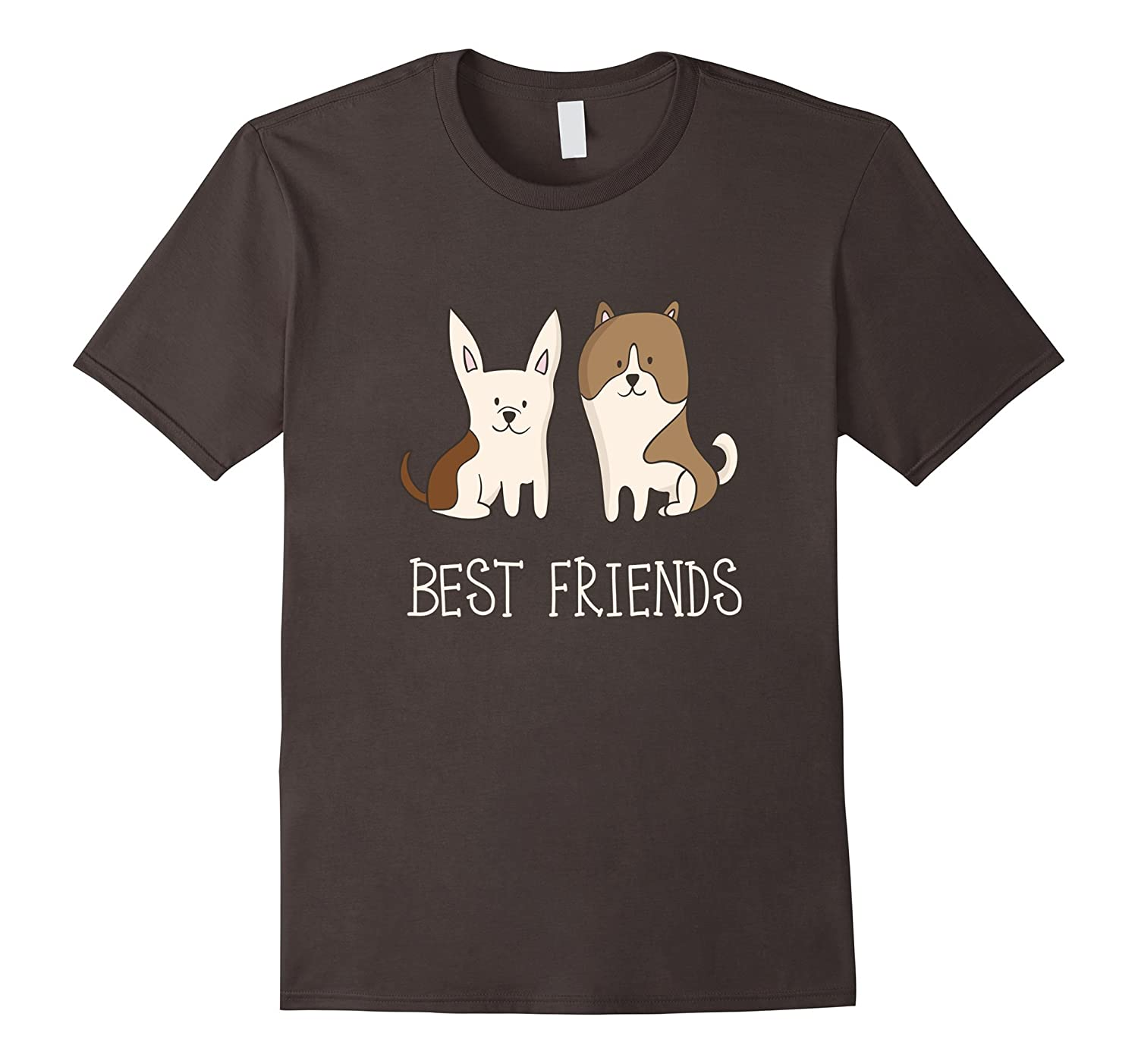 Cute Puppy Dog Best Friends T Shirt-PL