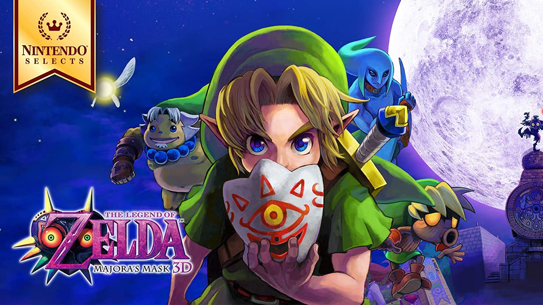 Nintendo Selects: The Legend of Zelda: Majora's Mask 3D - 3DS [Digital Code]