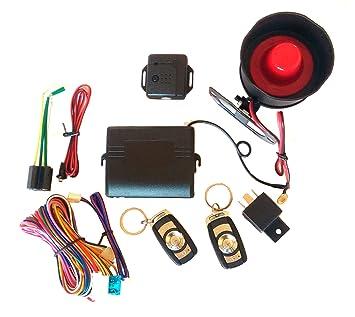 Kit Car Alarm System Alarma Antirrobo completo universal ...
