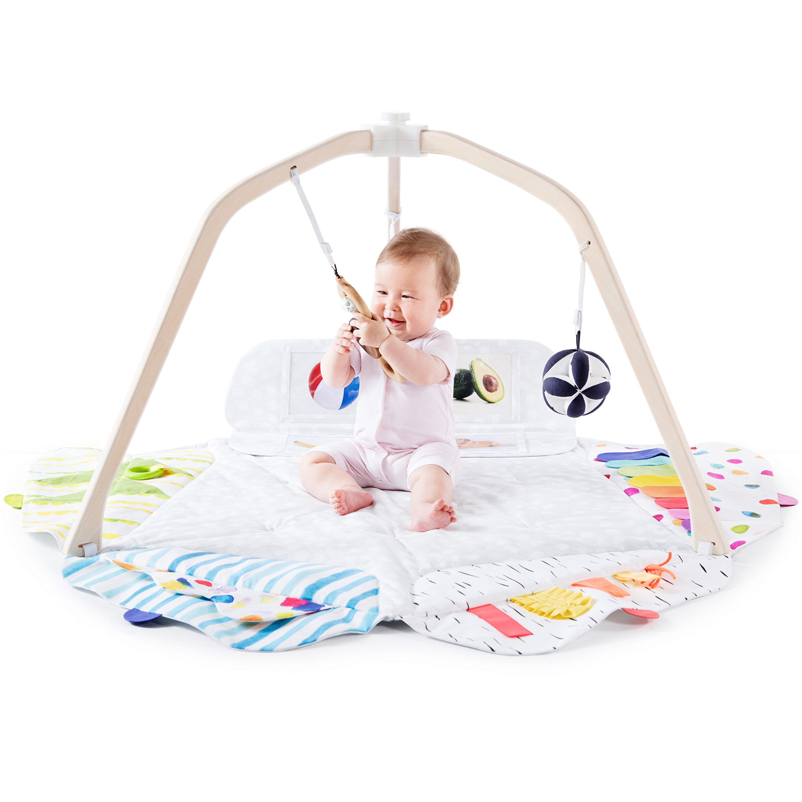 The Play Gym by Lovevery; Stage-Based Developmental Activity Gym & Play Mat for Baby to Toddler by Lovevery (Image #1)