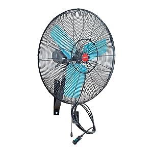 "OEMTOOLS 23980 24"" Misting Wall-Mount Oscillating Fan"