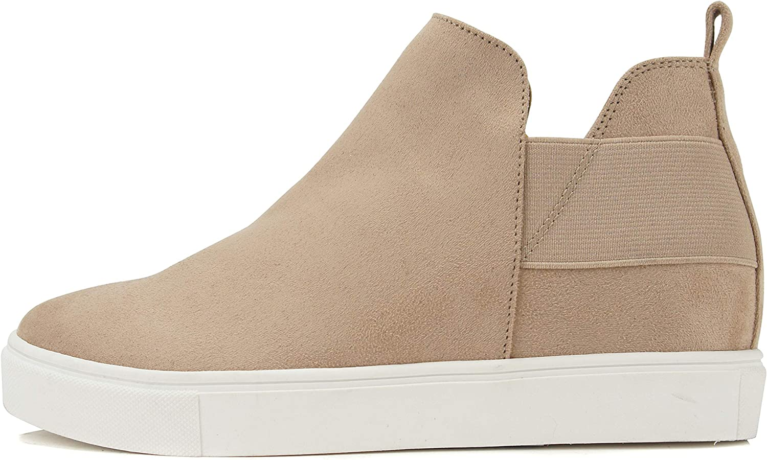 Soda Diana ~ Slip On Hidden Sneaker wit Fashion Boot Many popular brands Ankle Max 61% OFF Wedge