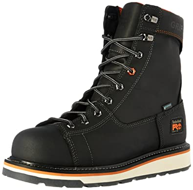 909b7263f8c Timberland PRO Men s Gridworks 8 quot  Alloy Safety Toe Waterproof  Industrial and Construction Shoe