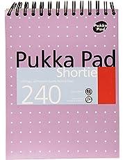 Pukka Pads SM024 A5 80gsm Shortie Writing Pad - Metallic-Pack of 3