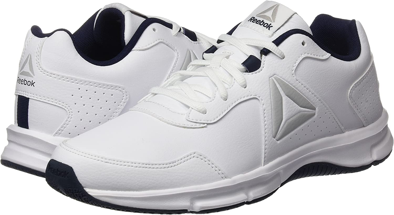 Reebok Express Runner SL, Zapatillas de Running para Hombre, Blanco (White/Collegiate Navy/Steel), 40 EU: Amazon.es: Zapatos y complementos