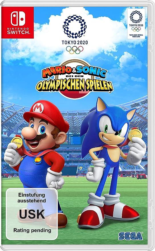 Mario & Sonic bei den Olympischen Spielen: Tokyo 2020 [Nintendo Switch] [Importacion Alemania]: Amazon.es: Videojuegos