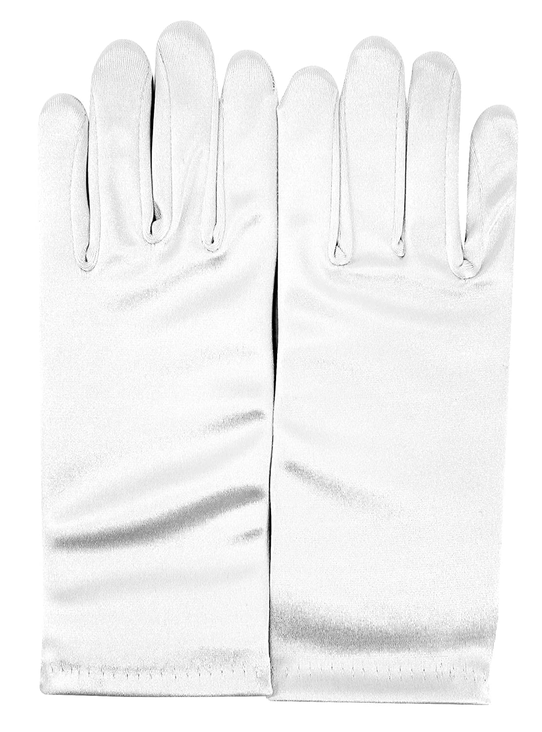 Enimay Girls Short and Long Formal Gloves Wedding Bridal Evening