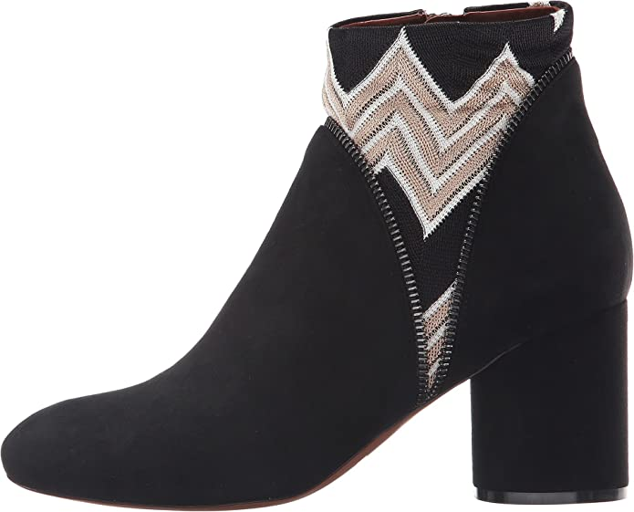 Inset Print Ankle Boot Missoni