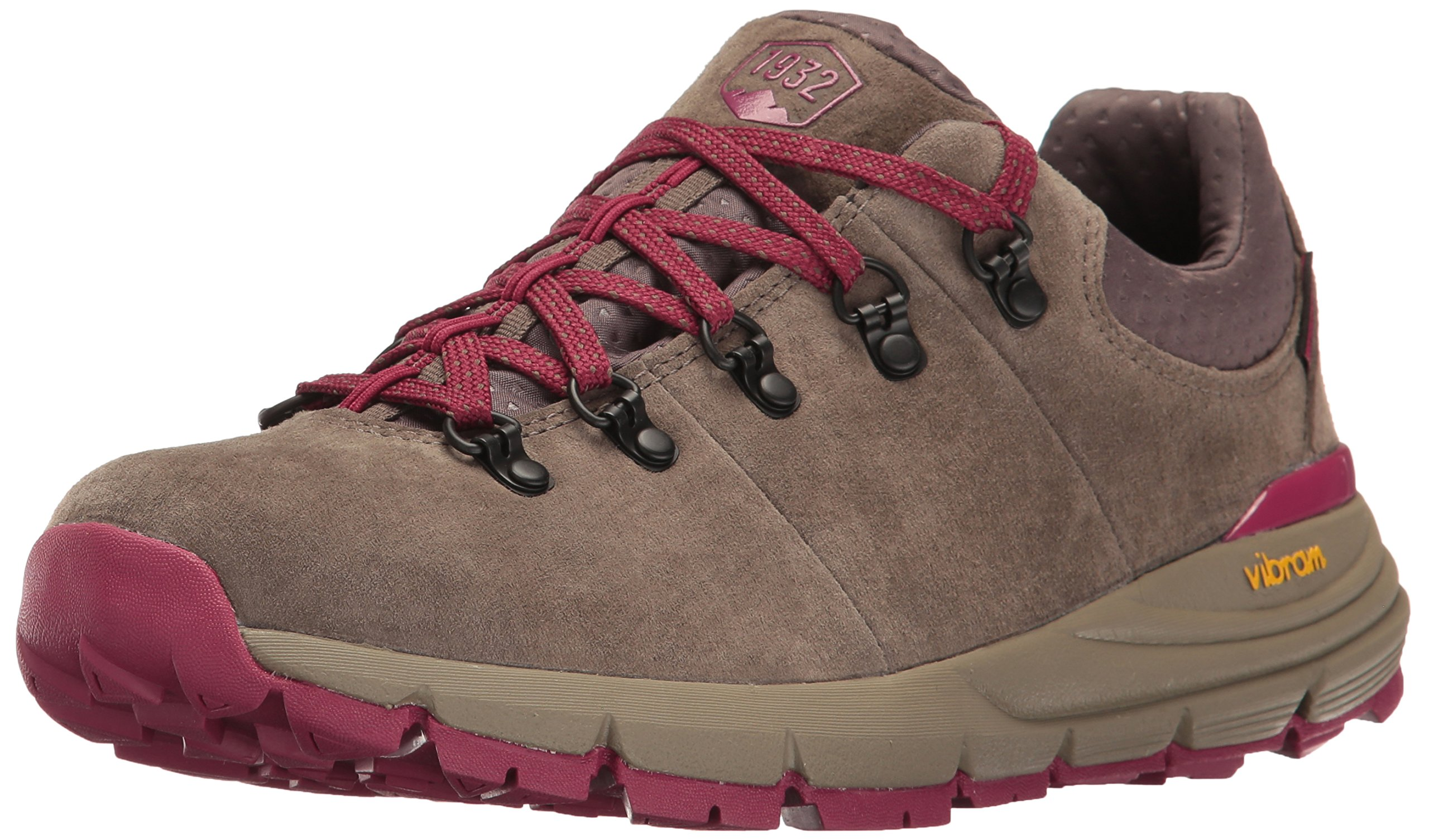 Danner Women's Mountain 600 Low 3'' Hiking Boot, Gray/Plum, 9 M US