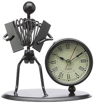 Batterie *NEU* GEWA Skulptur mit Uhr inkl Gitarre