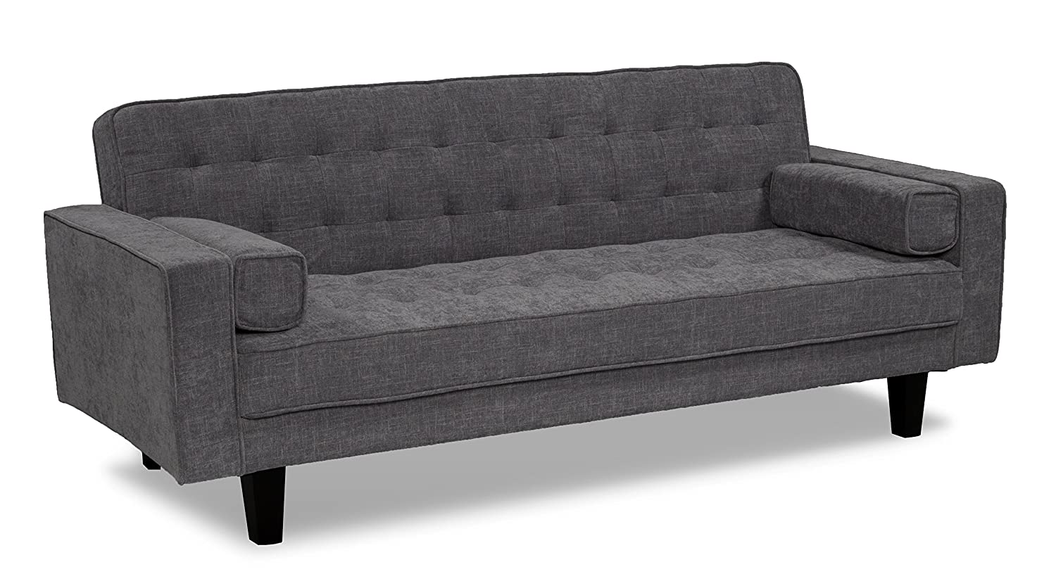 Amazon.com: Serta Dream Convertible Bahama Sofa, Steel ...