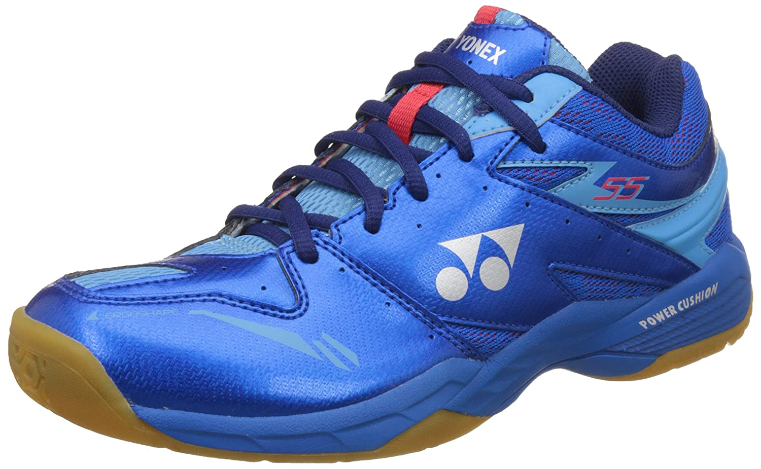 "Yonex ""Power Cushion 35  Badmintonschuhe für Herren, Herren, SHB 55, blau, 8 UK"