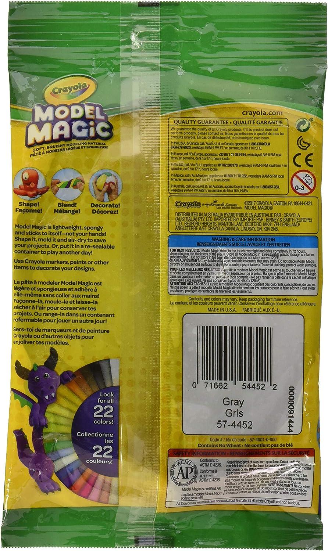 57-4452 Modeling Clay Alternative Crayola Model Magic in Gray 4oz