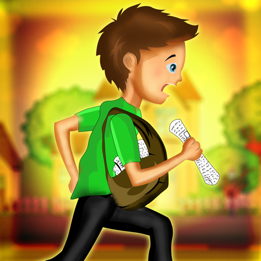 Infinite Ruin - Empire Newspaper Town Kids : The Delivery Boy City Street Adventure - Free Edition