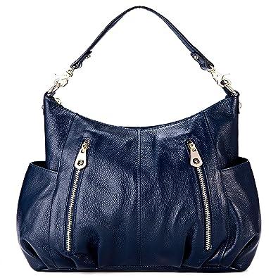 630e4b0189ad Amazon.com  GRM Genuine Leather Hobo Handbag Shoulder Bag for Women ...
