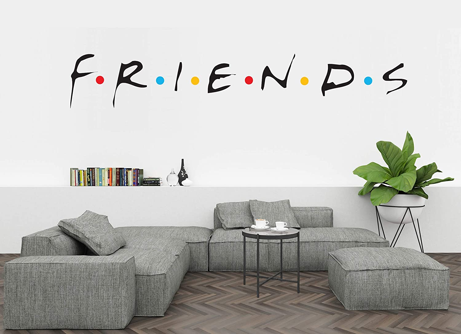 "Comedy TV Show Logo - Quote - Wall Decal Vinyl Sticker for Home Interior Decoration (30"" x 5"")"