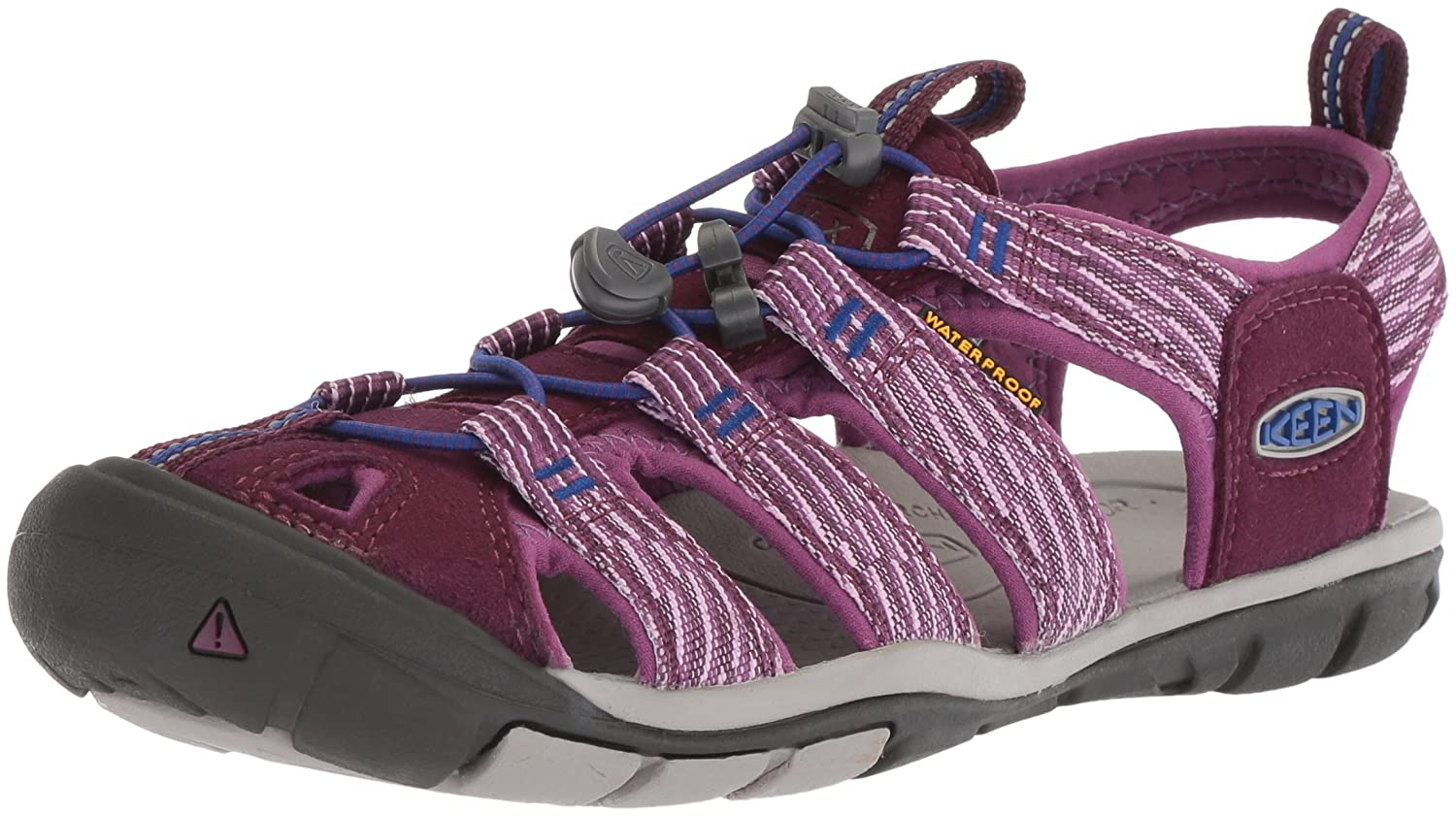 KEEN Women's Clearwater CNX-W Sandal B06ZZC92HJ 5.5 B(M) US|Grape Wine/Grape Kiss