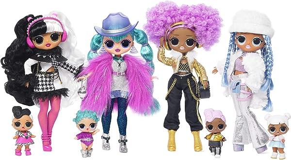 L.O.L. Surprise! O.M.G. Winter Disco Fashion Dolls