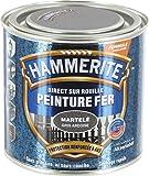 Hammerite - Peinture martelée / Boîte 250 ml - Gris ardoise