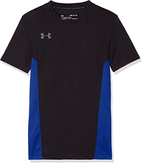 Black Under Armour Youth Challenger Short Sleeve Training Top XL