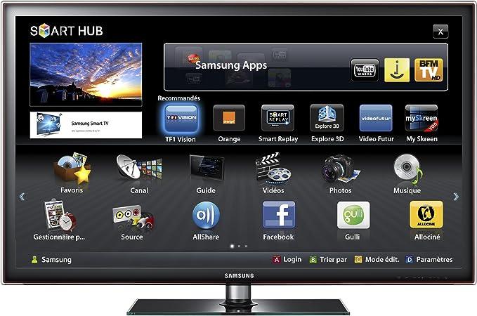 Samsung - UE46D5700 - Televisor LCD 46 pulgadas (LED, HD TV 1080p, 100 Hz, 4 HDMI, USB, Smart TV): Amazon.es: Electrónica