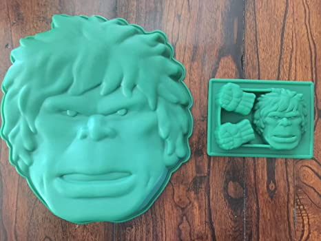 Amazoncom Hulk the Avengers Cake Pan Silicone Candy Mold Chocolate