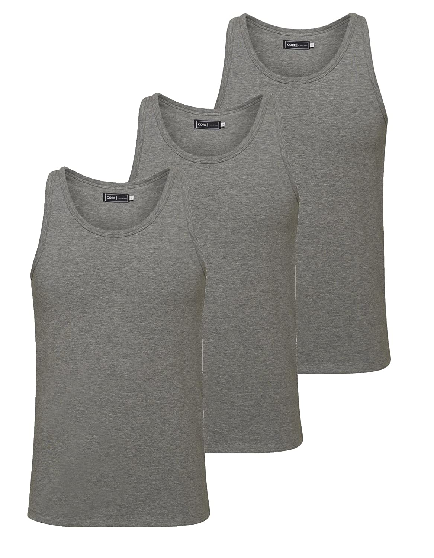 JACK /& JONES BASIC TANK TOP Camiseta de tirantes para hombre
