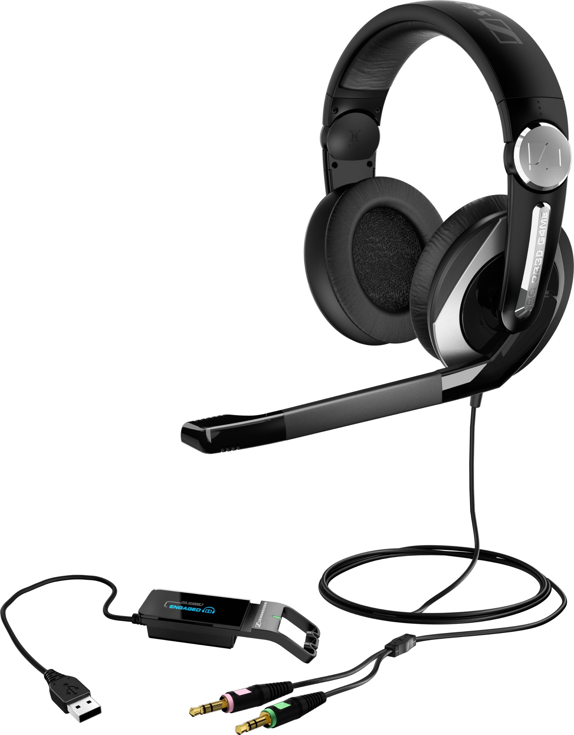 Sennheiser PC 333D Gaming Headset by Sennheiser (Image #2)