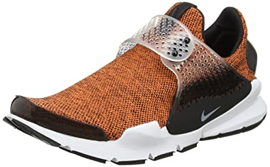 cheap for discount 7f830 120fe Nike Sock Dart SE Men s Running Shoes Terra Orange White-Black-White 911404