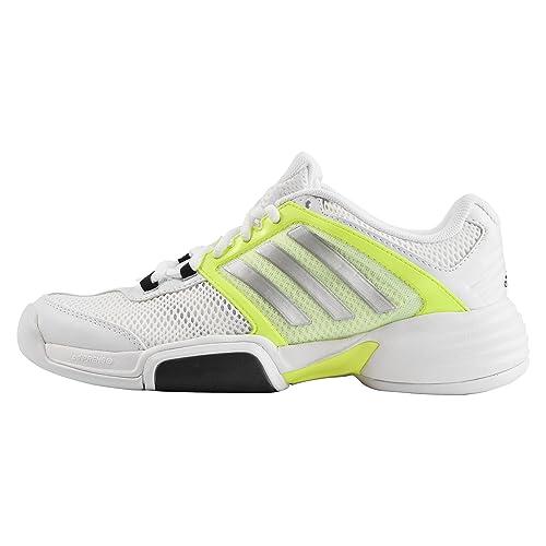 los angeles 64bc4 babbb adidas Barricade Team 4 CPT W - Zapatillas para Mujer, Color Blanco Lima Plata,  Talla 42 2 3  Amazon.es  Zapatos y complementos