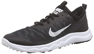 separation shoes 6d770 c5346 Nike Damen FI Bermuda Golfschuhe Schwarz (Black/White 001) 37.5 EU
