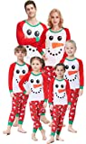 Matching Family Christmas Pajamas Boys Girls Snowman Jammies Children PJs Gift Set
