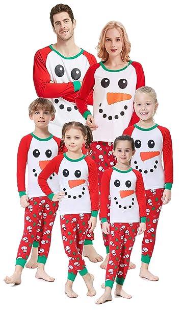 Family Christmas Pajamas With Baby.Matching Family Christmas Pajamas Boys Girls Elk Pjs Toddler Kids Children Sleepwear Baby Clothes Pyjamas Women Xs