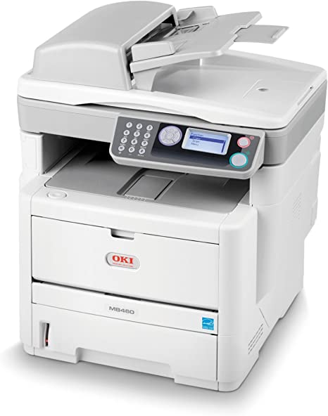OKI MB460 Laser 28 ppm 2400 x 600 DPI A4: Amazon.es: Electrónica