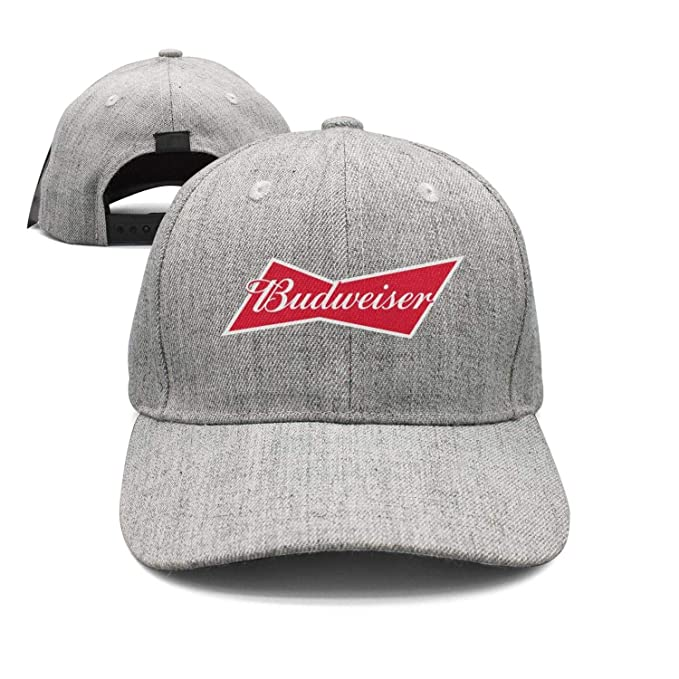 bb1ab6d464c13 uter ewjrt Adjustable Budweiser-Budvar-Beer-Logo- Sun Hats Cool Sports Caps