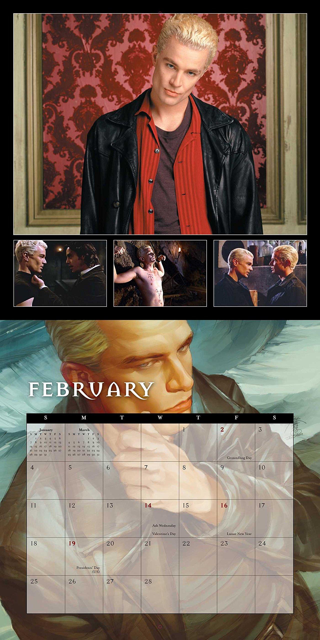 Buffy the Vampire Slayer 2018 Wall Calendar: 20 Years of Slaying: 20th  Century Fox: 9780789333629: Amazon.com: Books