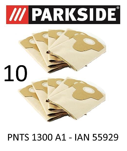 10 bolsas de aspiradora Parkside 20 L pnts 1300 A1 Lidl Ian ...