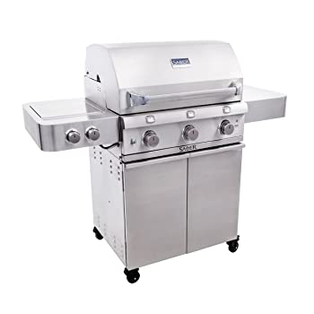 SABER GRILLS 3-Burner 675sq. in Gas Grill