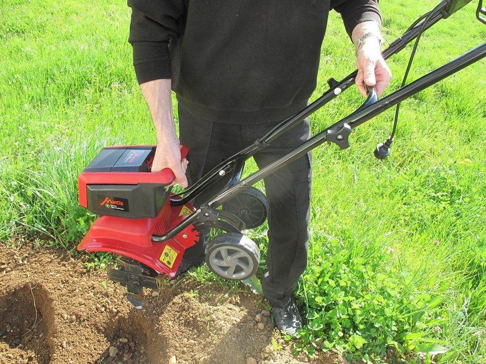 Mantis Cultivador eléctrico para jardín 3450-02 (1000W) 30 ...